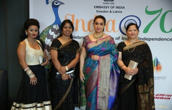 India Gala Evening on the occasion of 70 Years of India's Independence hosted at The Waterfront on 17th August. Attended by several Swedish and Indian dignitaries and celebrities