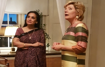 Ambassador Monika Kapil Mohta meets with the County Governor Ms Maria Larsson, Örebro County on 05 April 2017