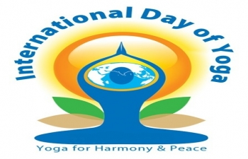 Celebration of International Day of Yoga in Sweden