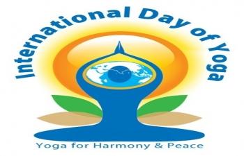 Celebration of International Day of Yoga in Sweden