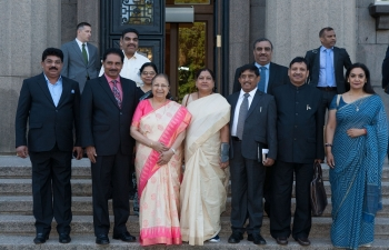 Hon'ble Speaker of India Smt. Sumitra Mahajan visits Riga.
