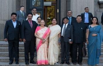 Hon'ble Speaker of India Smt. Sumitra Mahajan visits Riga.