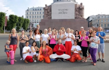 International Day of Yoga in Riga