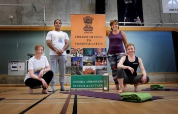 International Day of Yoga in Linkoping