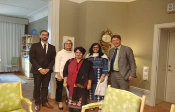 Visit of Secretary, Ministry of Health and Family Welfare to Sweden