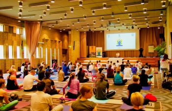 5th International Day of Yoga in Malmö