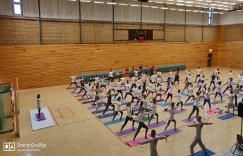 5th International Day of Yoga in Gothenburg