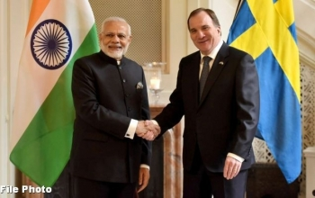 Telephone Conversation between PM and Prime Minister of Sweden