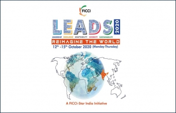 FICCI LEADS 2020: Reimagine the World, scheduled from October 12-15, 2020, on a virtual platform