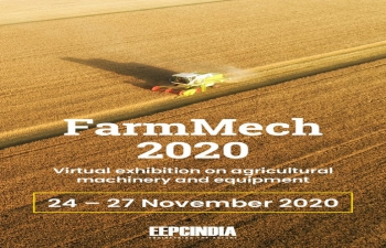 "EEPC Virtual Exhibition ""FARMMECH 2020"" from 24-27 November 2020"